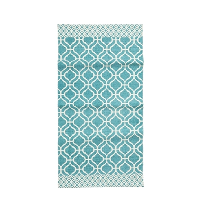 Picture of Patterned Cotton Rug