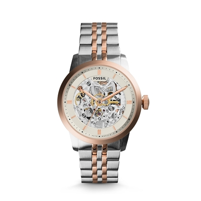 Picture of Automatic Two-Tone Stainless Steel Watch